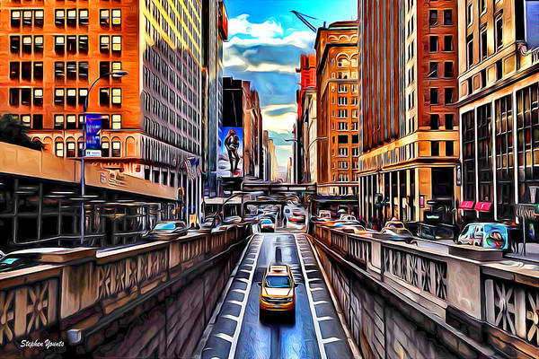 Wall Art - Digital Art - New York by Stephen Younts