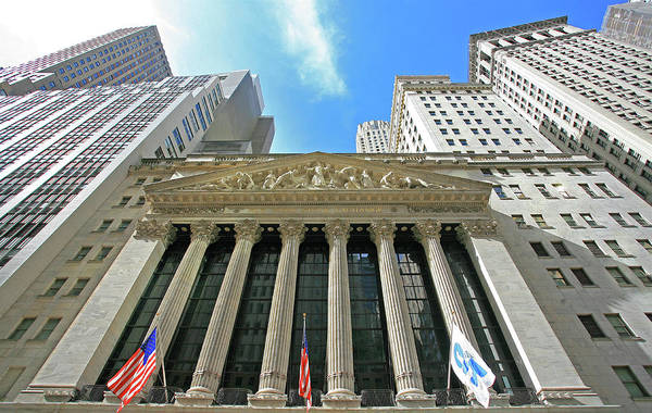 Photograph - New York Stock Exchange by Darrel Giesbrecht