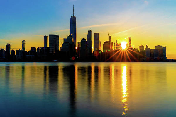 Photograph - New York Sunrise by Chris Lord