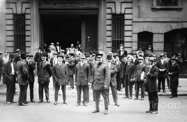 Photograph - New York Waiters Strike, 1912 by Granger