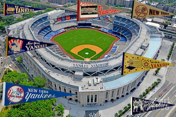 Yankee Stadium Digital Art - New York Yankees 1 by Steven Parker