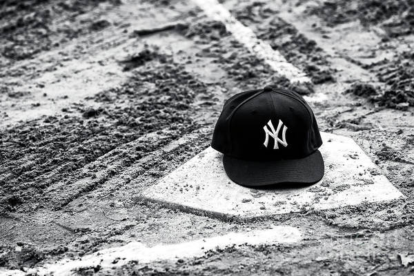 Baseballs Photograph - New York Yankees Home by John Rizzuto