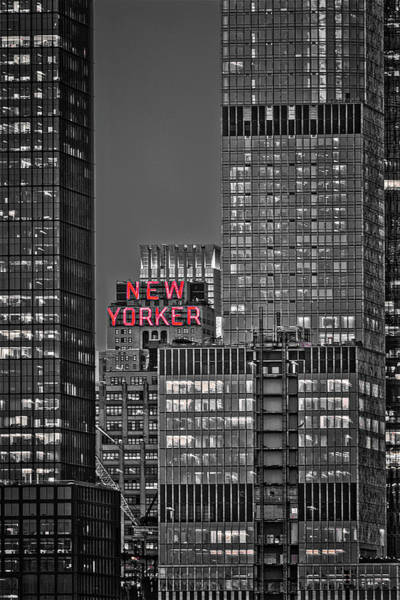 Photograph - New Yorker Hotel Nyc II by Susan Candelario