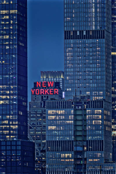 Photograph - New Yorker Hotel Nyc by Susan Candelario