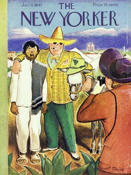 Painting - New Yorker January 11th 1947 by Garrett Price