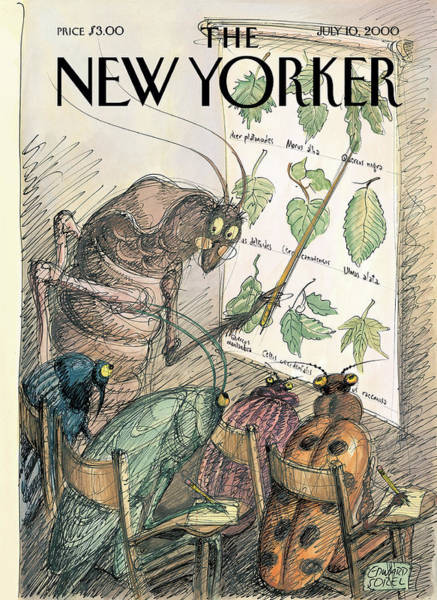 New Yorker July 10th, 2000 Art Print