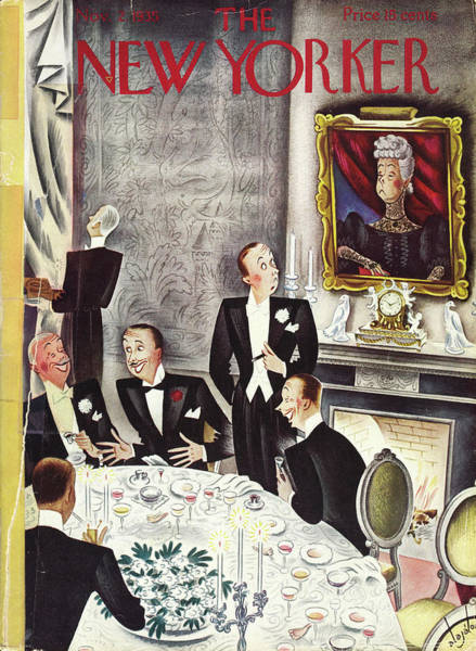Formal Wear Painting - New Yorker November 2nd 1935 by Constantin Alajalov