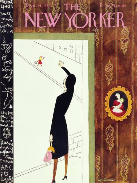Painting - New Yorker September 14, 1946 by Christina Malman