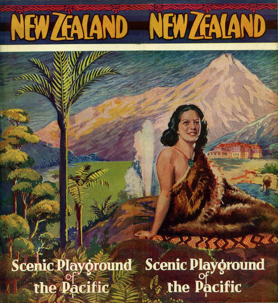 Indigenous People Photograph - New Zealand, Scenic Playground Of The by Jim Heimann Collection