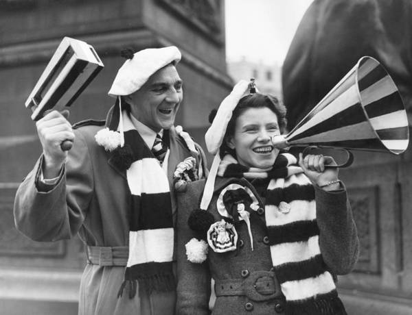 Newcastle Upon Tyne Photograph - Newcastle Fans by Douglas Miller
