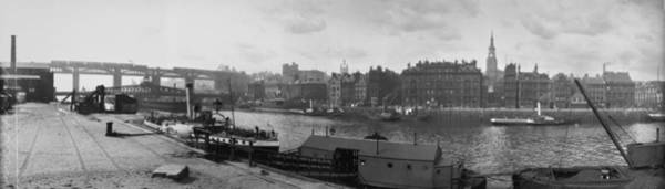 Newcastle Upon Tyne Photograph - Newcastle Upon Tyne by Alfred Hind Robinson