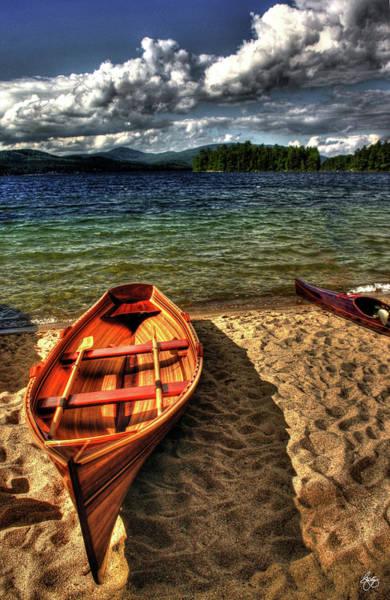 Photograph - Newfound Lake Rowboat by Wayne King