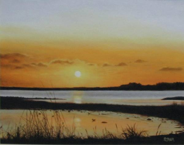 Painting - Newfoundland Sunset by Tammy Taylor