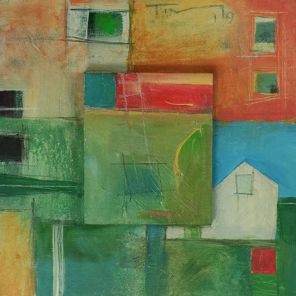 Painting - New Home Abstract by Tim Nyberg