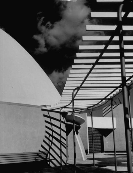 Exhibition Photograph - Newly-constructed Unident. Exhibition Bl by Alfred Eisenstaedt
