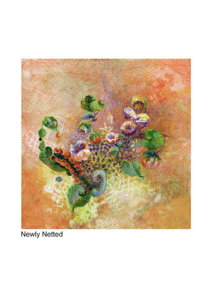 Painting - Newly Netted by Betsy Derrick