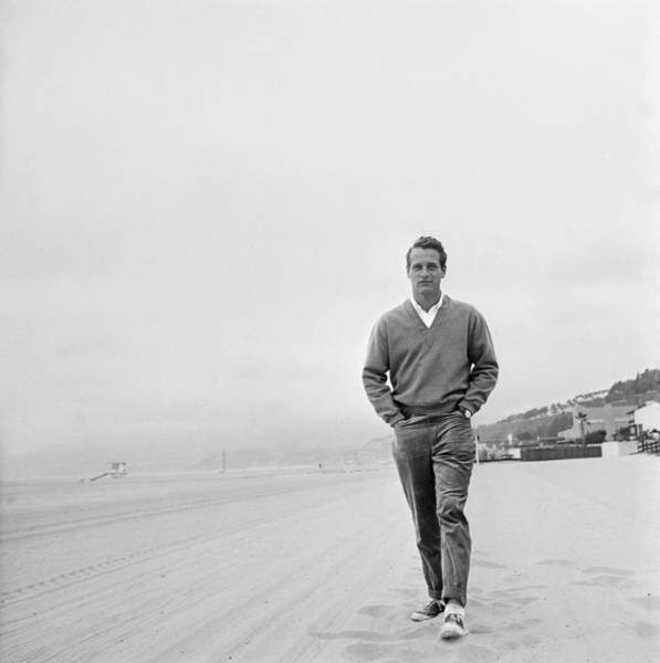 Photograph - Newman On The Beach by Hulton Archive