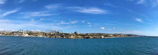 Photograph - Newport Harbor Panorama  by Brian Eberly