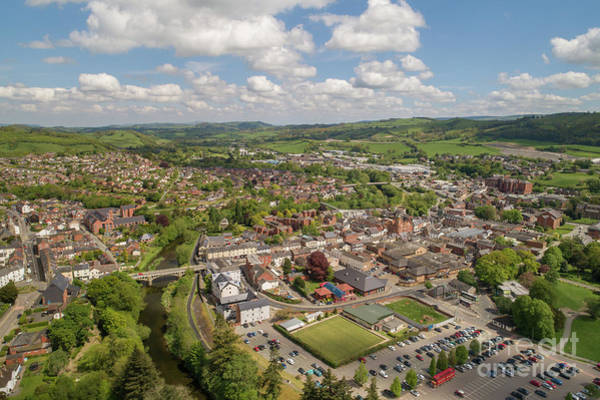 Photograph - Newtown Powys Wales by Keith Morris