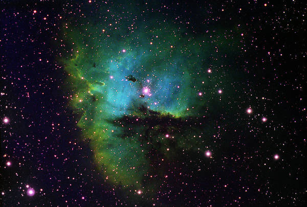 Dust Photograph - Ngc 281 Pacman Nebula In Cassiopeia by Malcolm Park