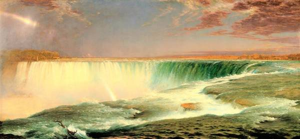 Wall Art - Painting - Niagara - Digital Remastered Edition by Frederic Edwin Church