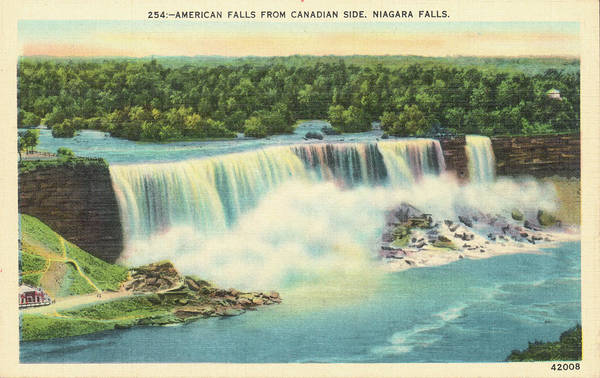 Canada Photograph - Niagara Falls by Archive Photos