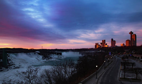 Photograph - Niagara Falls At Sunrise by Lora J Wilson