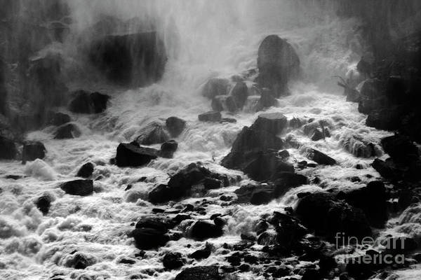 Photograph - Niagara Falls - Black And White by Doc Braham