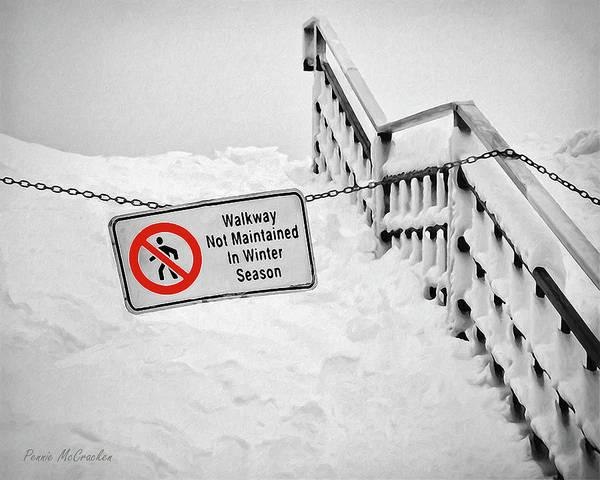 Photograph - Niagara Falls In Winter by Pennie McCracken