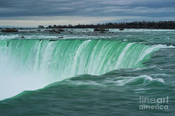Photograph - Niagara Falls Magical Hues by Rachel Cohen