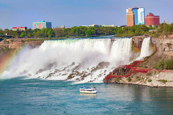Photograph - Niagara Falls Series 9303 by Carlos Diaz