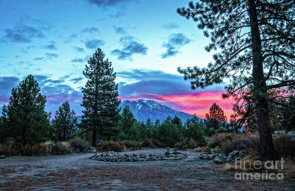Interstate 5 Wall Art - Photograph - Nice Campsite And Mount Shasta by Robert Bales