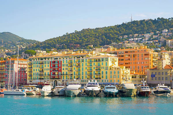 French Riviera Photograph - Nice Harbour, Cote Dazur, France by John Harper