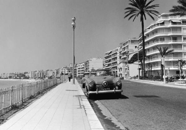Mode Of Transport Photograph - Nice Seafront by Fpg