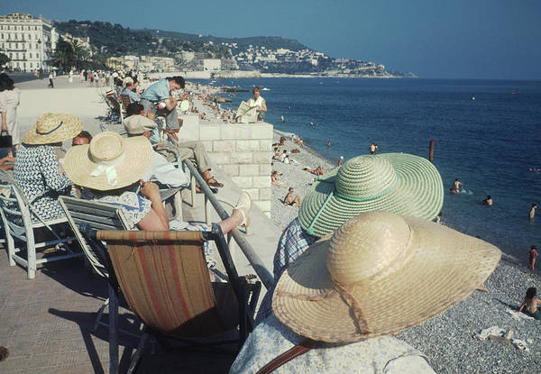 Photograph - Nice Seafront by Michael Ochs Archives
