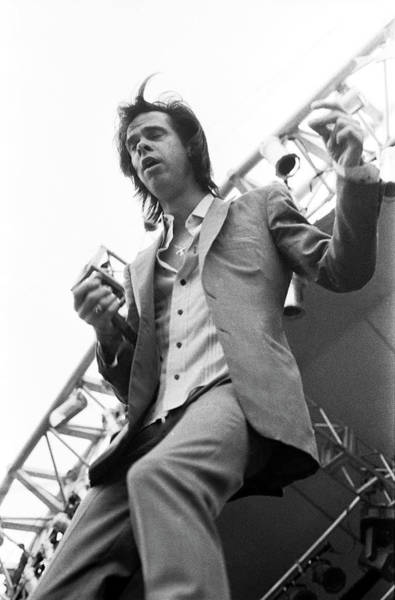 Photograph - Nick Cave Germany 1994 by Martyn Goodacre