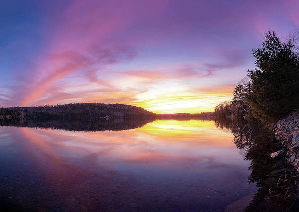 Houlton Photograph - Nickerson Lake by Christopher Mills