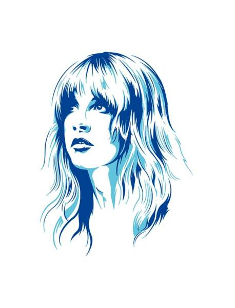 Stevie Nicks Digital Art - Nicks by Yasmin Onek