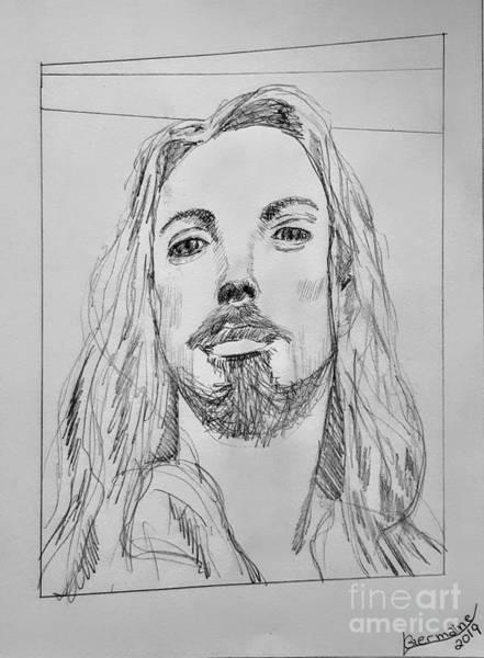 Drawing - Nicola by Lorraine Germaine