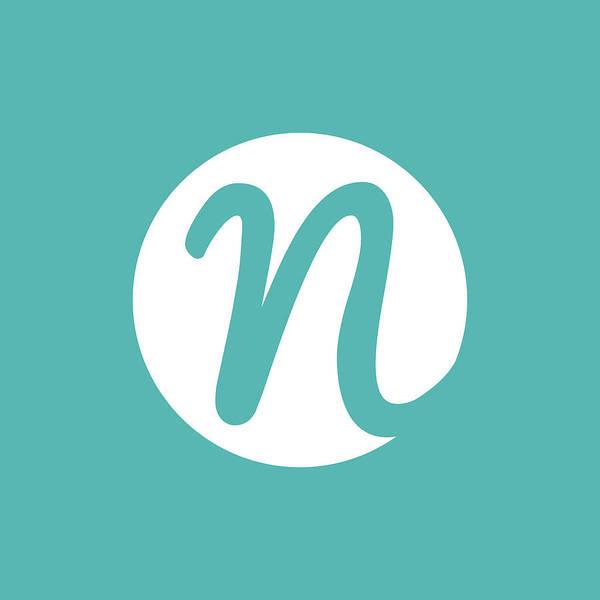 Digital Art - Nicolesy Logo Pillow 2 by Nicole Young
