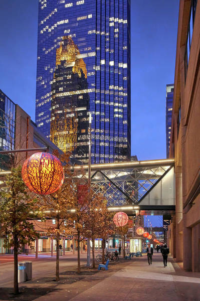 Photograph - Nicollet Mall Late In The Day by Jim Hughes