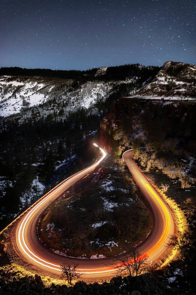 Wall Art - Photograph - Night At Rowena Crest by Cat Connor