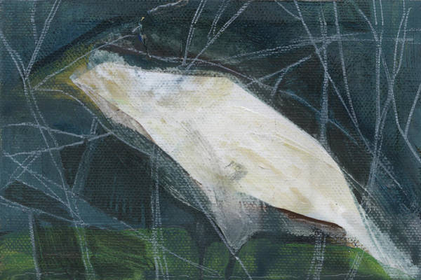 Painting - Night Bird 4 by Tim Nyberg