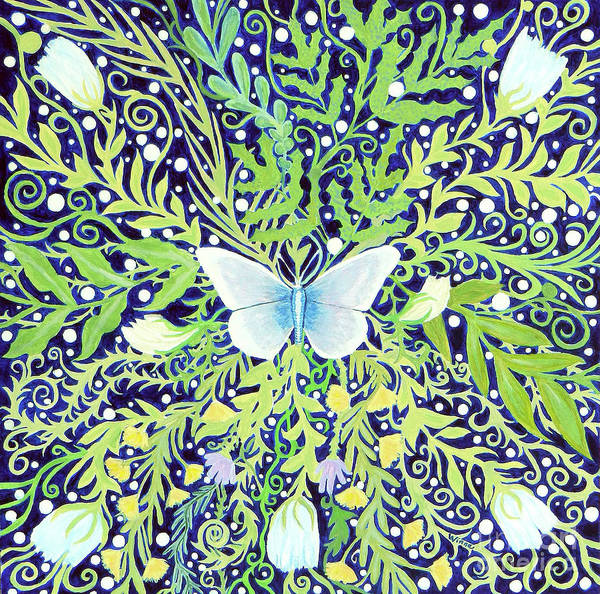 Painting - Night Butterfly by Lise Winne