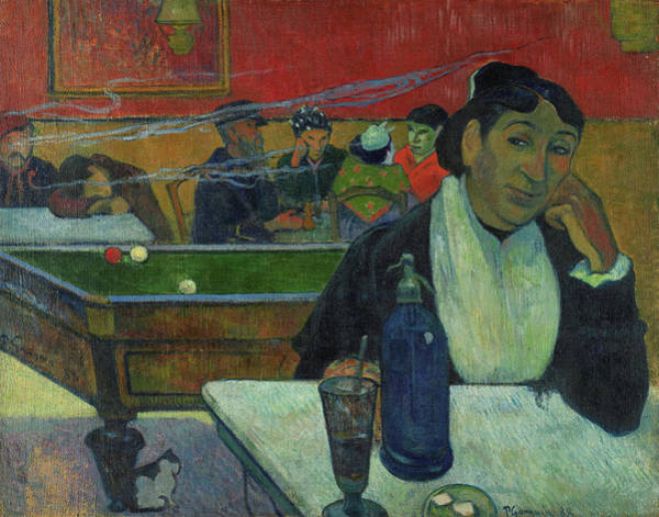 Wall Art - Painting - Night Cafe At Arles by Paul Gauguin