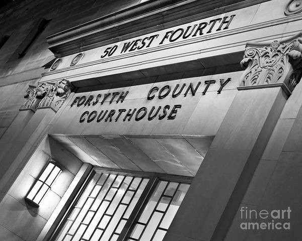 Photograph - Night Court by Patrick M Lynch