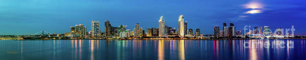 Photograph - Night Falls On San Diego by David Levin