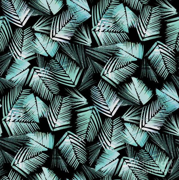 Wall Art - Mixed Media - Night Grass, 2017 by Catherine Worsley