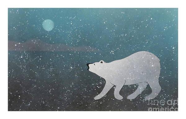 Mixed Media - Night Hunter  by Art MacKay