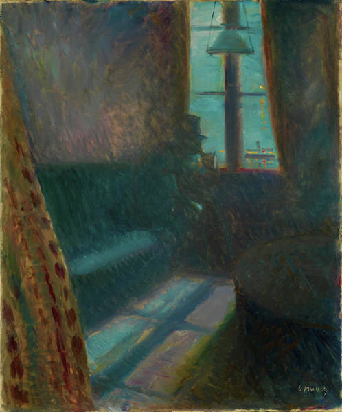 Wall Art - Painting - Night In Saint-cloud - Digital Remastered Edition by Edvard Munch